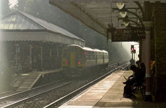Rain shower, HB station, 22/9/15