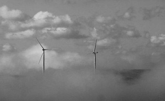 Turbines and clouds, 27/9/15