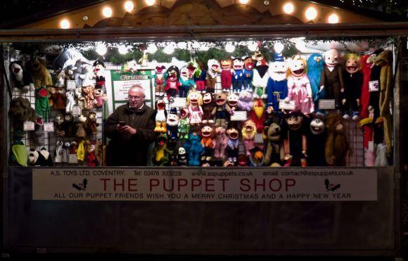 Puppet shop, 19/11/15