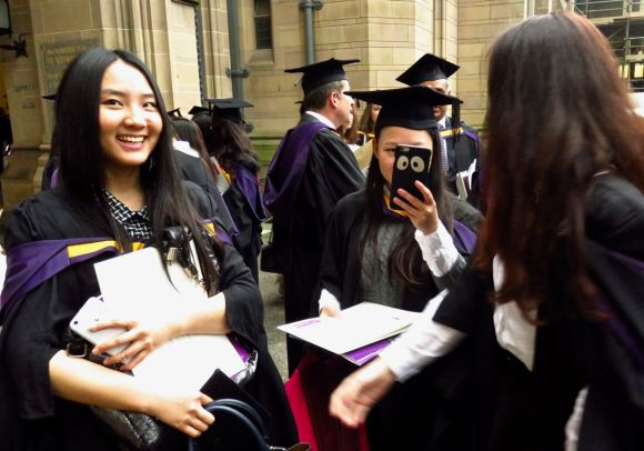 Kim, graduation, 17/12/15