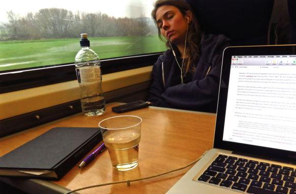Train to London, 13/12/15