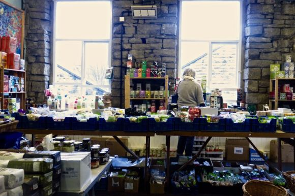 Pop up organic shop, 31/1/16