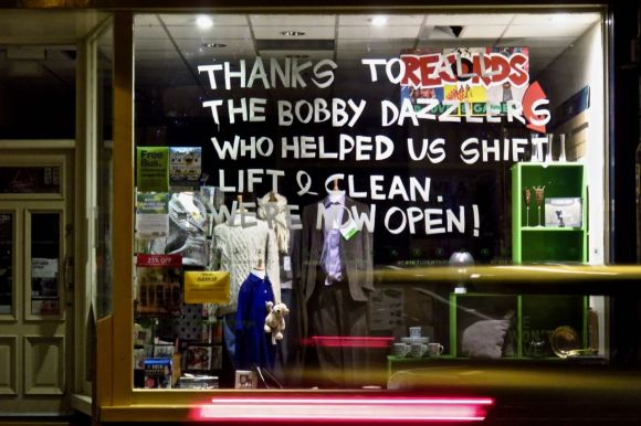 Reopened shop, 24/1/16