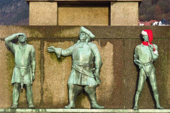Seafarers' Monument, 27/1/16