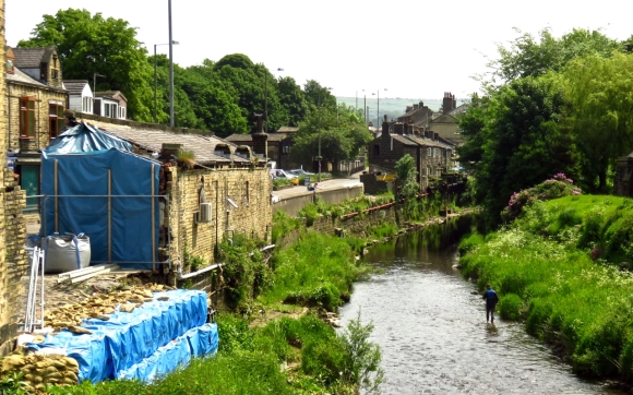 Calder at Mytholmroyd, 7/6/16