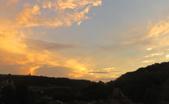 Sunset, 1/9/16