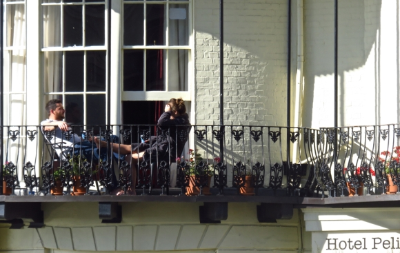 Pelirocco balcony, 22/10/16