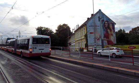 Prague bus stop, 8/10/16