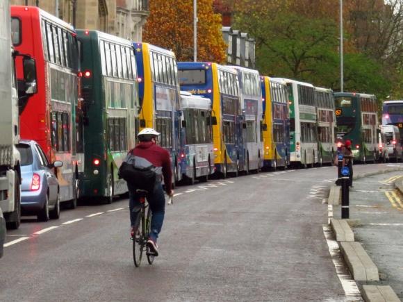 Bus swarm, 16/11/16