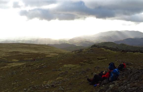 Dove Crag summit, 5/11/16