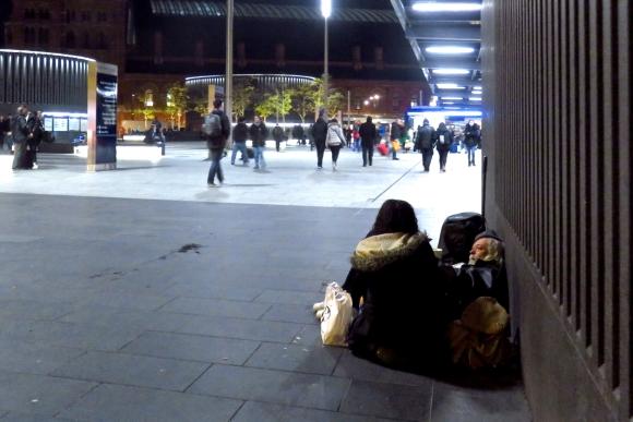 Outside King's Cross, 13/11/16