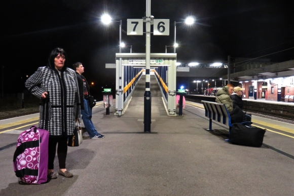 Peterborough station, 27/11/16