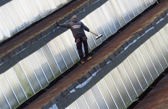 Bloke on roof, 2/12/16