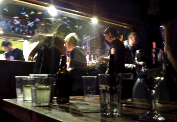 Trades bar, 10/12/16