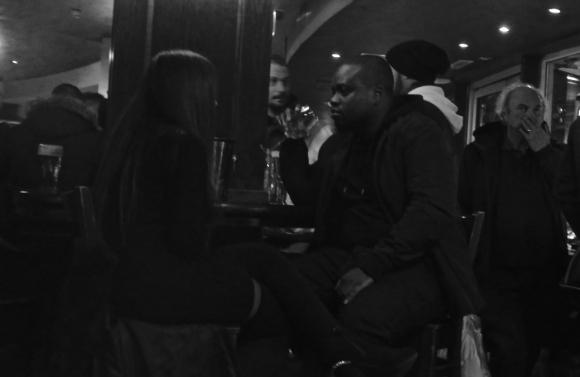 Leeds station bar, 27/1/17