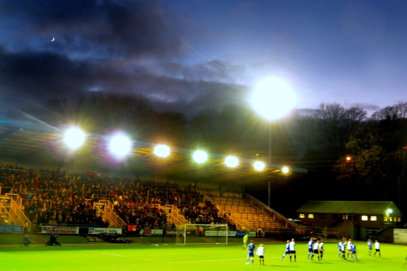 South stand, Shay, 1/1/17