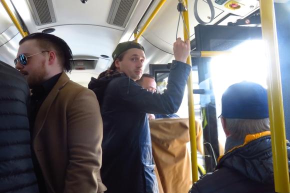 Airport bus, Gardemoen, 6/3/17