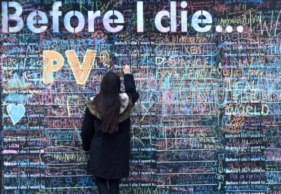 Before I die, 2/3/17