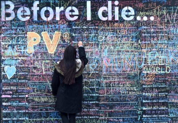 Before I die, 2/3/17