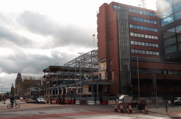 MBS building site, 14/3/17
