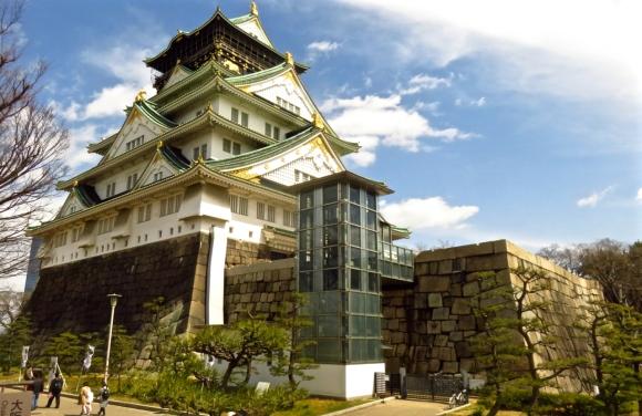 Osaka Castle, 24/3/17