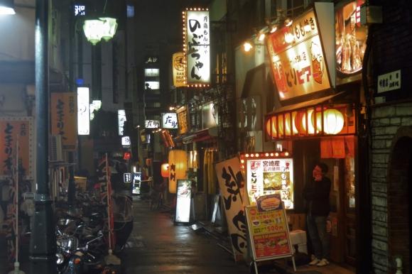 Shinjuku side street, 21/3/17