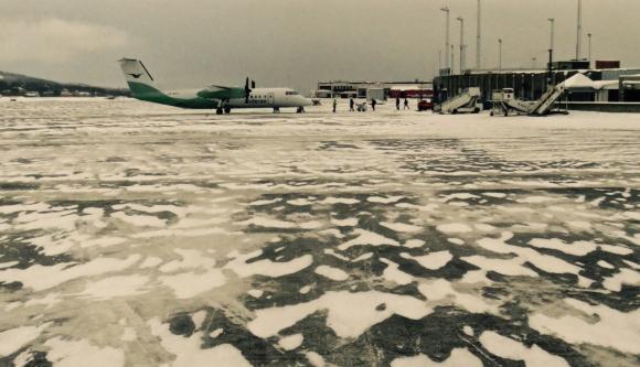 Tromsø airport, 10/3/17