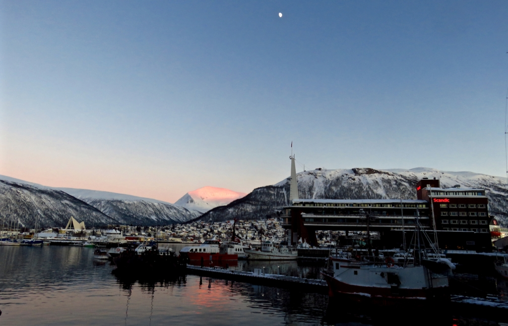 Tromsø harbour, 7/3/17