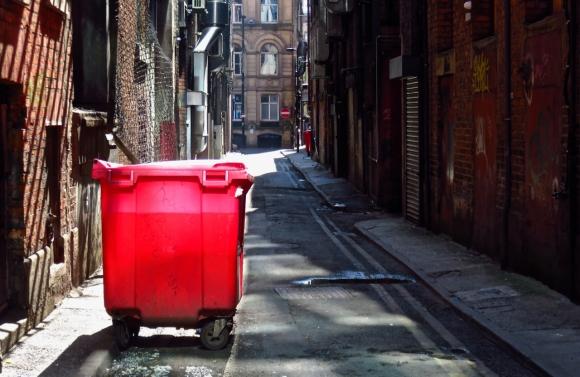 Chinatown alley, 10/5/17