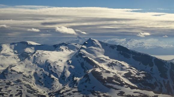 Arctic mountains, 17/6/17