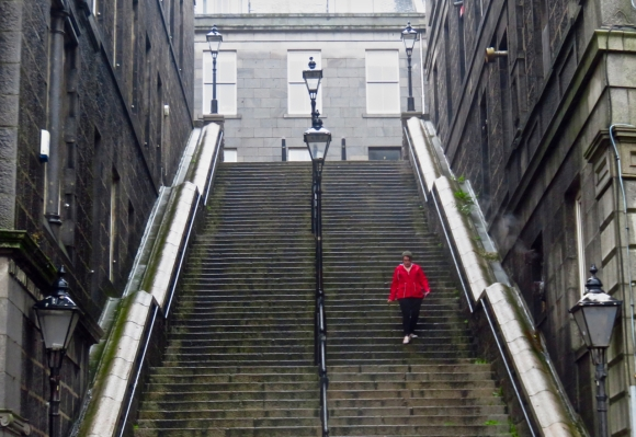 Bridge Street steps, 29/6/17