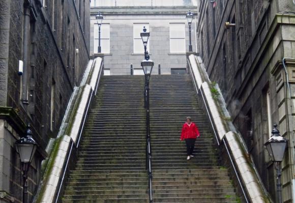 Bridge Street steps, 29/6/17