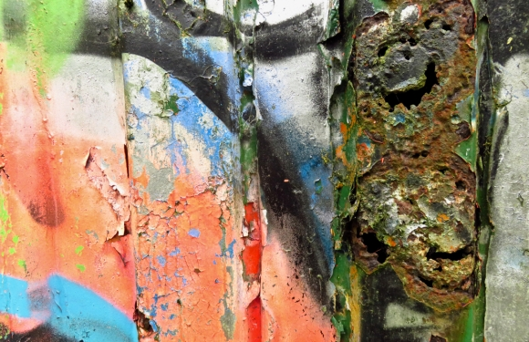 Rusting container, 12/6/17