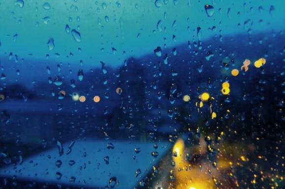 Evening rain, 19/7/17