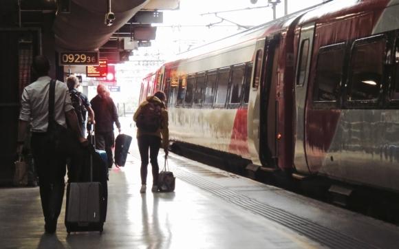 London train, 11/7/17