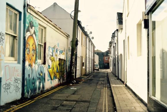 Brighton alley, 10/9/17