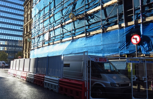 Chinatown building site, 28/9/17