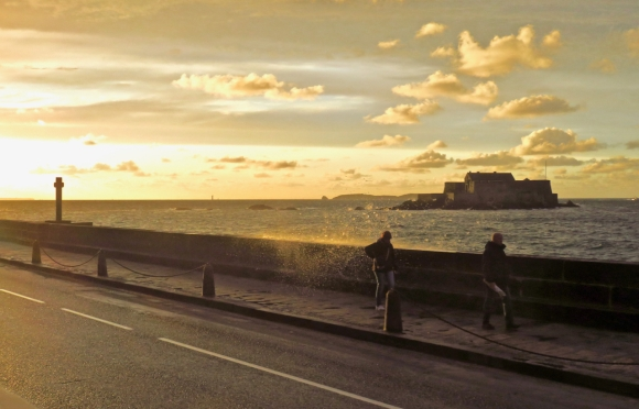 St Malo sunset, 21/9/17