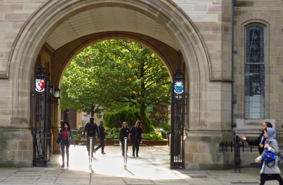 Students return, 26/9/17