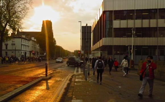 Oxford Road flare, 16/10/17