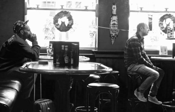 Schiphol bar, 22/10/17
