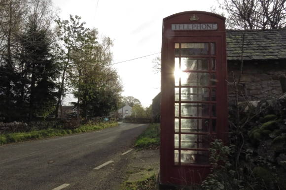Bampton phone box, 1/11/17