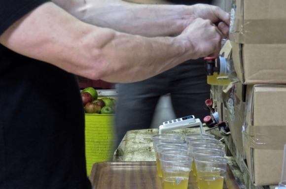 Cider tasting, 13/11/17