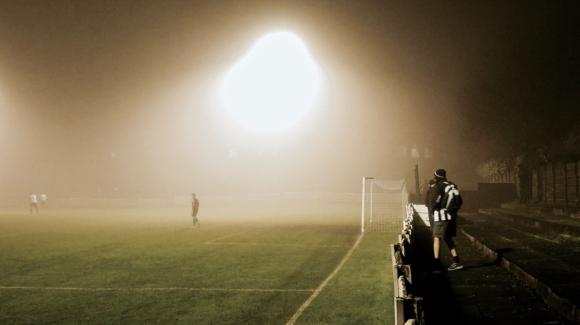 Mossley AFC fog, 23/12/17