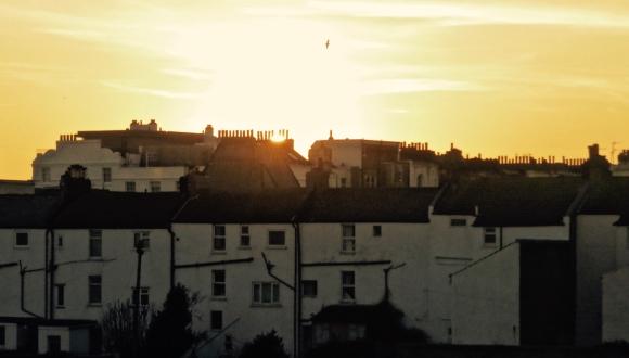 Brighton sunset, 24/2/18