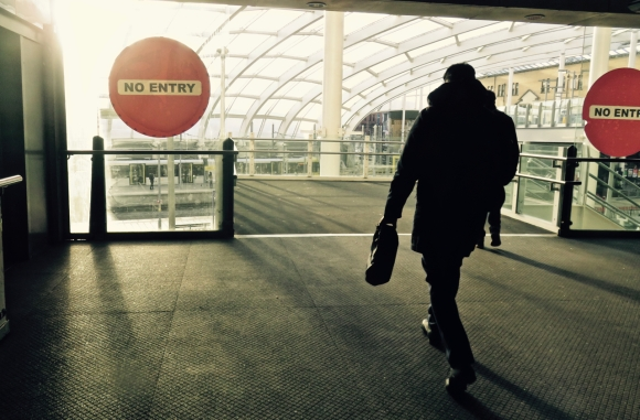 No entry, 15/2/18