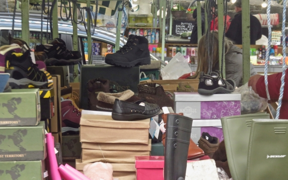Shoe stall, 29/3/18