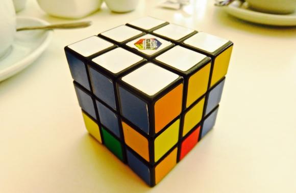 Rubik's cube, 29/4/18