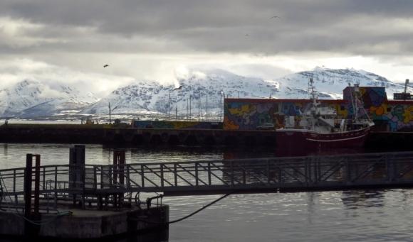 Tromsø harbour, 25/4/18