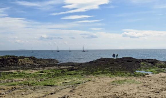 Aberdour beach, 7/5/18
